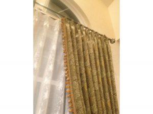重厚感あるウイリアムモリスのカーテン
