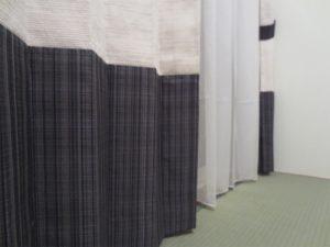 和室に合うカーテンを作りました